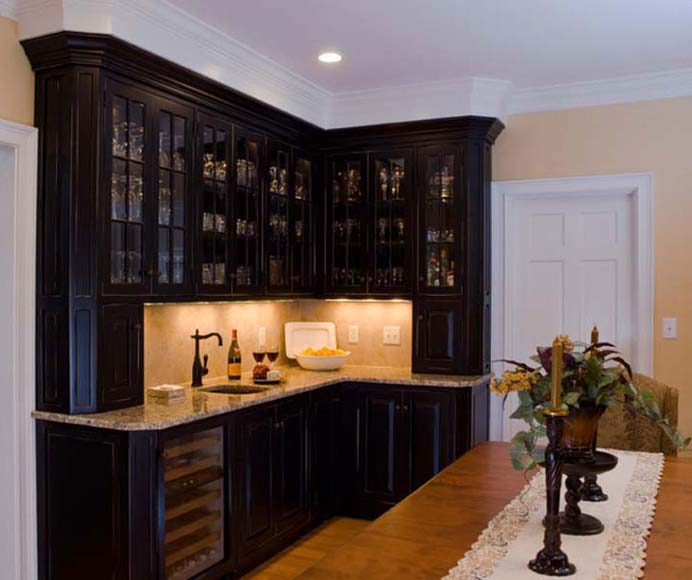Bar Cabinetry   Scandia Kitchens